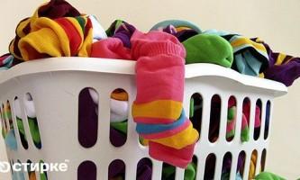 Як правильно випрати шкарпетки вручну і в машинці