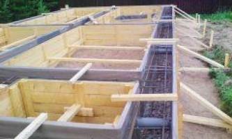 Як правильно побудувати і залити фундамент - 10 рад