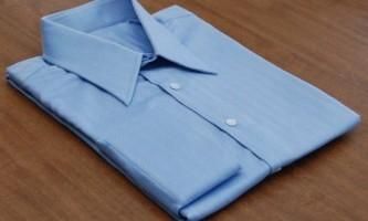 Як правильно складати сорочку