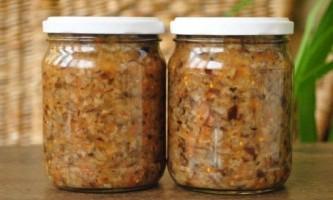 Як приготувати грибну ікру?