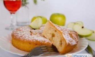 Як приготувати шарлотку з яблуками?
