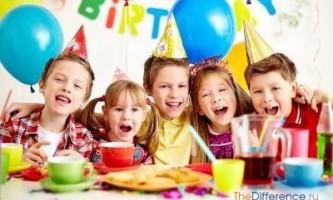 Як провести дитячий день народження