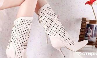 Як розтягнути тісні чобітки під розмір ноги