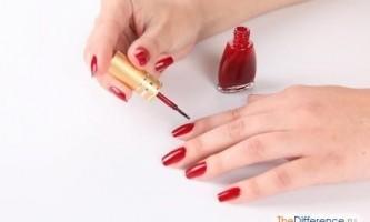 Як рівно фарбувати нігті?