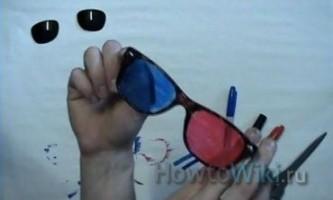 Як зробити 3d окуляри в домашніх умовах?