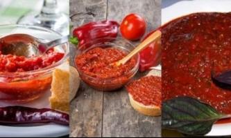 Як зробити аджику з помідорів з часником?