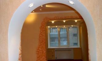Як зробити арку в квартирі