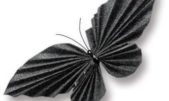 Як зробити метелика з паперу?