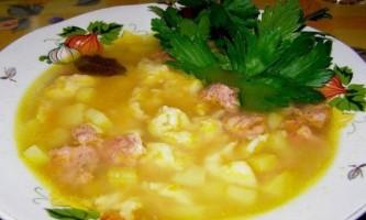 Як зробити галушки для супу?