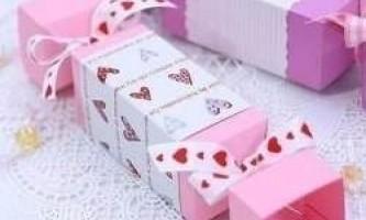 Як зробити цукерку з паперу