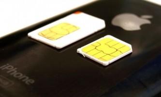 Як зробити microsim для ipad і iphone 4