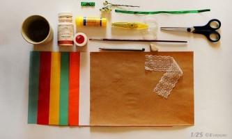 Як зробити листівку на паску