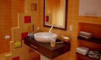 Як зробити перегородку у ванній кімнаті