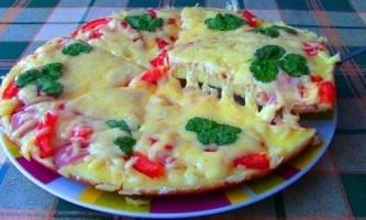 Як зробити піцу на сковороді?