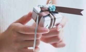 Як зробити подарунок своїми руками?