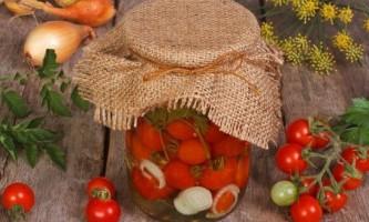 Як зробити помідори в желатині?