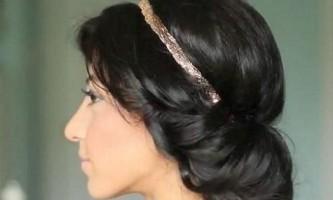 Як зробити зачіску з пов`язкою для волосся?