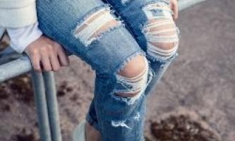 Як зробити рвані джинси своїми руками