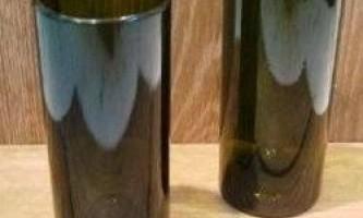 Як зробити стакан з пляшки