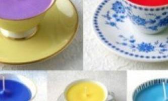 Як зробити свічку в домашніх умовах