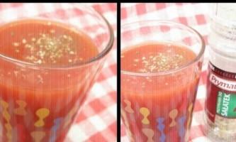 Як зробити смачний томатний сік