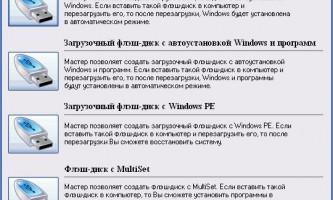 Як зробити завантажувальну флешку для windows 7, 8 і xp