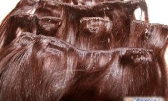 Як знімають нарощене волосся?