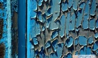 Як зняти стару фарбу з дерева?