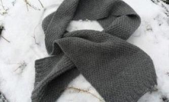 Як зв`язати спицями чоловічий светр і шарф?