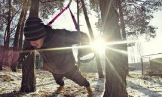 Як тренуватися взимку на вулиці - комплекс вправ