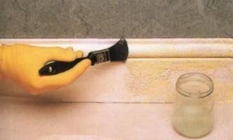 Як прибрати стару фарбу зі стін?
