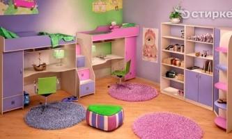 Як прикрасити дитячу кімнату для хлопчика і дівчинки