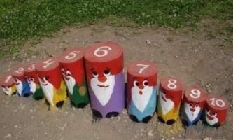 Як прикрасити дитячу площадку своїми руками?