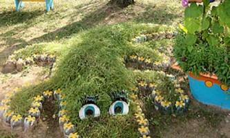 Як прикрасити сад і город своїми руками?