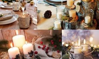Як прикрасити стіл на новий рік 2018
