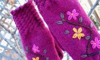 Як прикрасити рукавиці своїми руками?