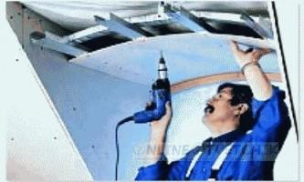 Як встановити стелю з гіпсокартону своїми руками