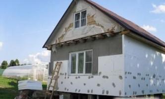 Як утеплити стіни будинку
