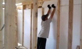 Як утеплити стіни веранди