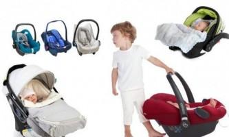 Як вибрати автолюльку для новонароджених?