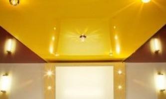 Як вибрати колір натяжної стелі