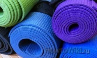 Як вибрати килимок для йоги?