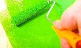 Як вибрати фарбу для стін і стелі