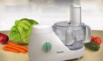 Як вибрати кухонний комбайн