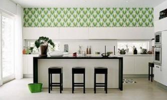 Як вибрати шпалери для кухні