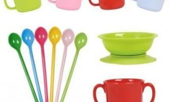 Як вибрати першу посуд для дитини