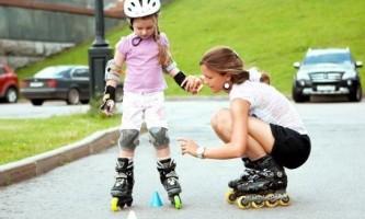 Як вибрати роликові ковзани для дитини?