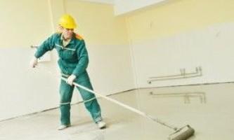 Як вибрати самовирівнюючі суміші для підлоги