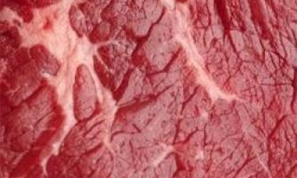 Як вибрати свіже м`ясо
