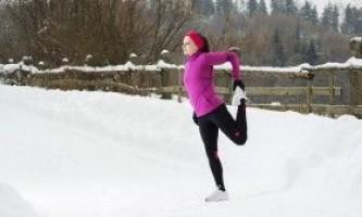 Як займатися спортом взимку?